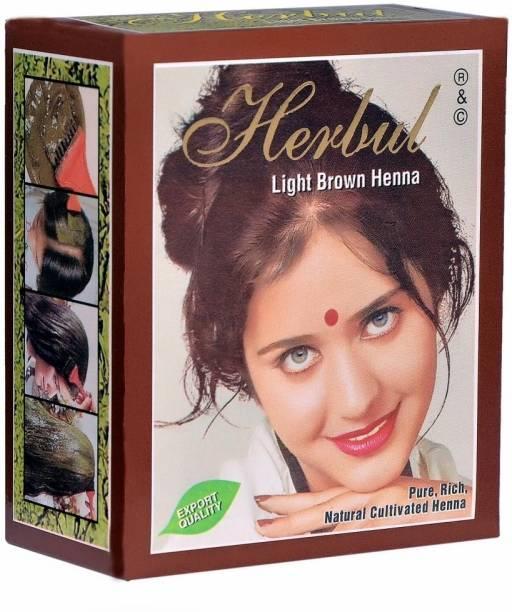 herbul Light Brown Henna