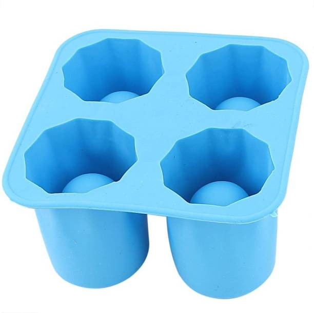 Riddhi Siddhi Blue Silicone Ice Cube Tray