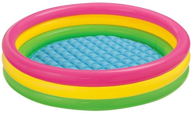 INTEX billionBAG 3ft Round Baby Inflatable Swimming Pool