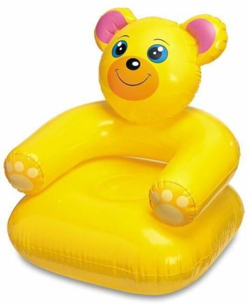 Skys & Ray teddy PVC (Polyvinyl Chloride) 1 Seater Inflatable Sofa