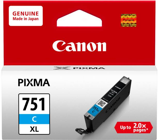 Canon CLI-751 Cyan XL Black Ink Cartridge