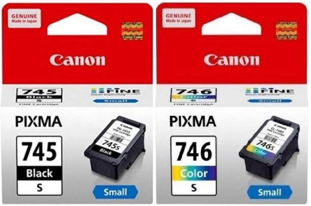 Canon 745 Small & 746 Small [set of 2] Tri-Color Ink Cartridge