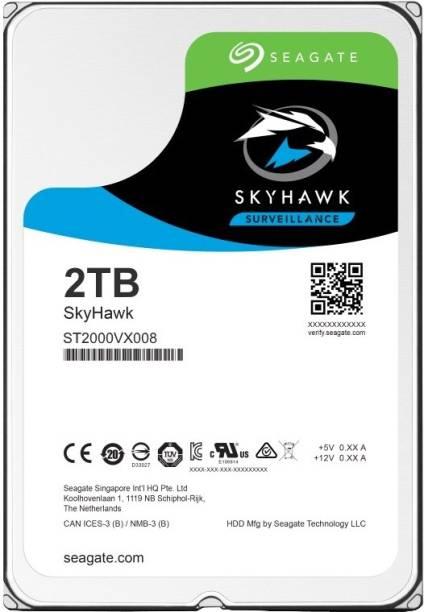 Seagate SkyHawk 2 TB Surveillance Systems Internal Hard Disk Drive (ST2000VX008)