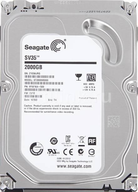 Seagate Barracuda SV-35 2 TB Desktop Internal Hard Disk Drive (ST2000VX000)
