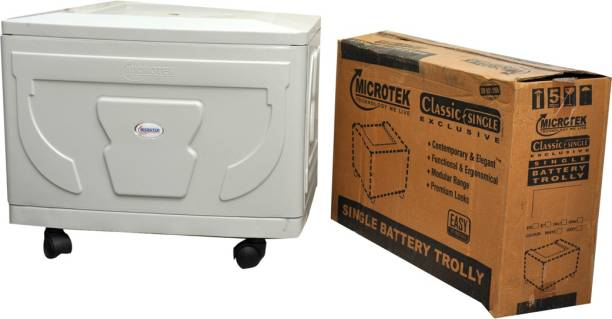 Microtek Classic Single Trolley for Inverter and Battery