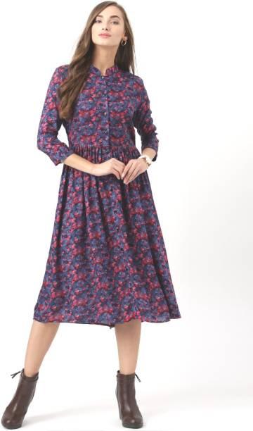 Floral Dresses Buy Floral Print Dresses Online At Best Prices In
