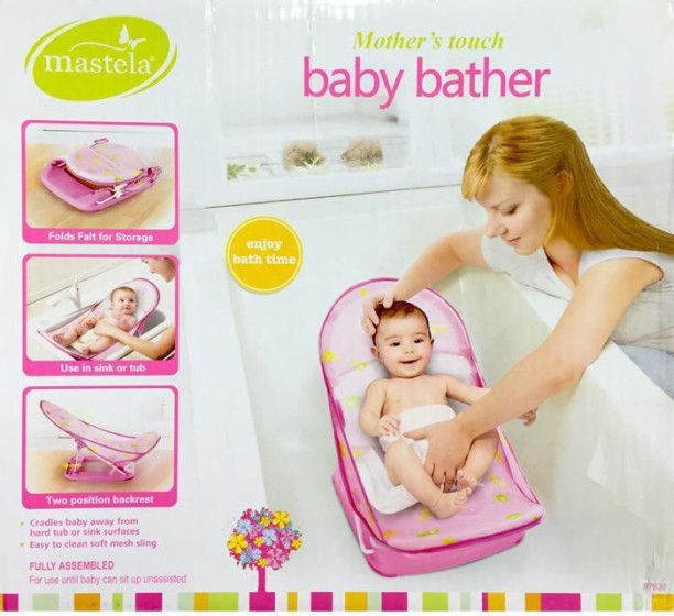 Baby Bather Deluxe Child Comfort Bath Tub Sink Infant Newborn Safely Securely