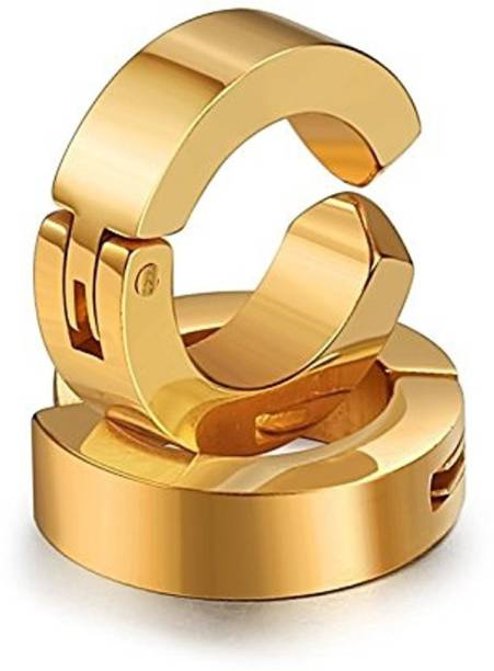 fad67d3f5 Chandrika Pearls Salman khan inspired (Non pierced) golden Steel Clip-on  Earring