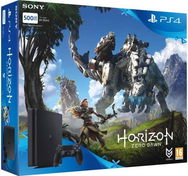 SONY PlayStation 4 (PS4) Slim 500 GB with Horizon Zero Dawn