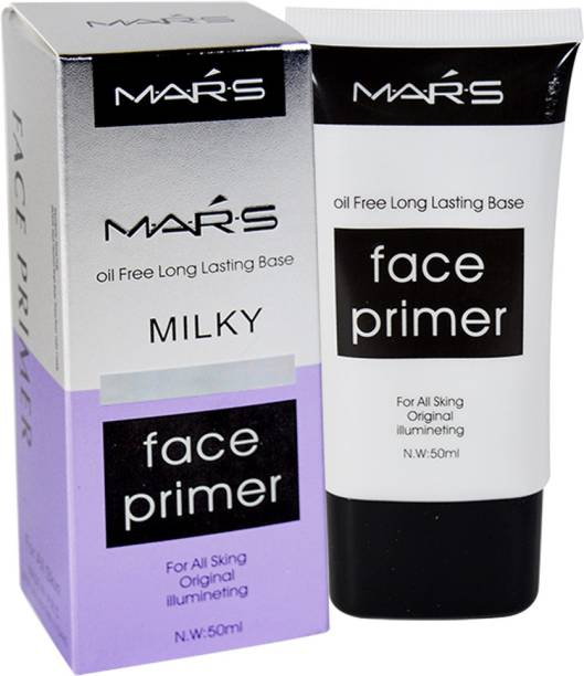 M.A.R.S Oil Free Long Lasting Milky Face  Primer  - 50 ml