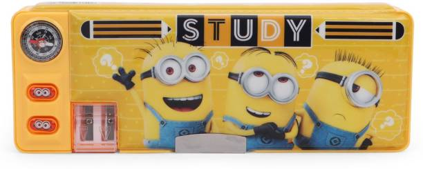 Minion Minnions Character Art Plastic Pencil Box