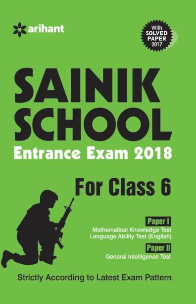 Sainik School Entrance Exam 2018 Class 6th