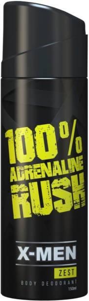 X-Men ZEST BODY Deodorant Spray  -  For Men