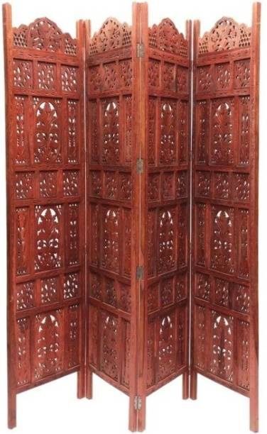 Onlineshoppee Sheesham Wood Solid Wood Decorative Screen Partition