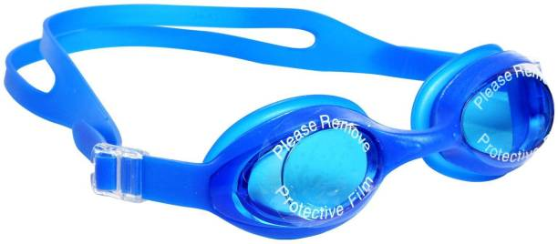 SYNDICATE Best Quality Blue Pouch silicon swimming googles with uv protection Swimming Goggles