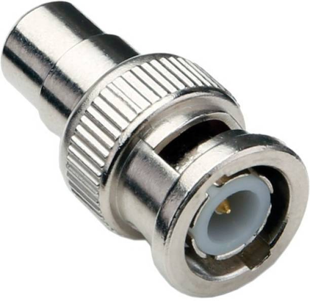 Rapter BNC Male to RCA Female connector for Audio and Video Wire Connector