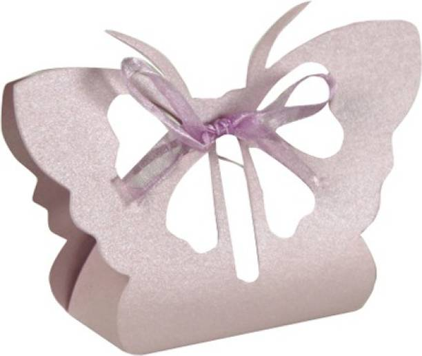 Futaba Lavender Laser Cut Butterfly Gifts Candy Boxes