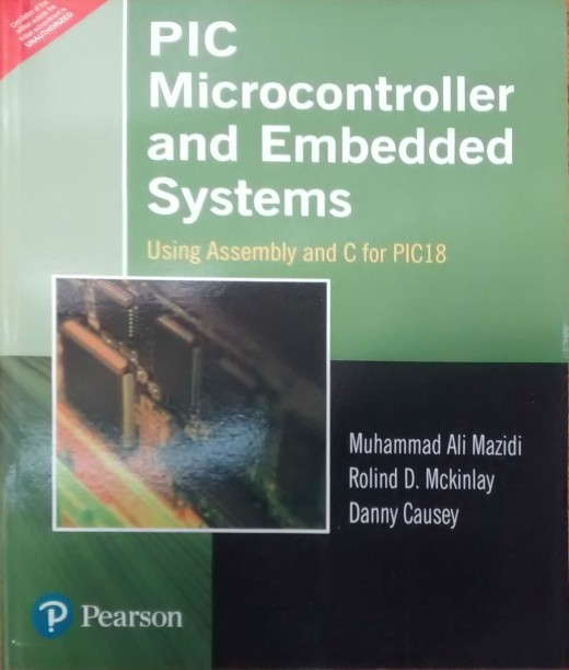muhammad ali mazidi books buy muhammad ali mazidi books online atpic microcontroller and embedded systems using assembly and c for pic 18 1 edition