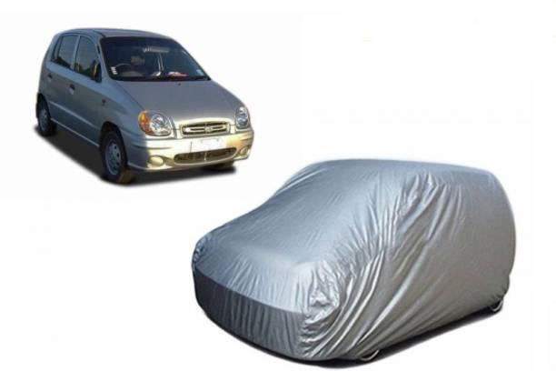 Car Bazaar Car Cover For Hyundai Santro (With Mirror Pockets)