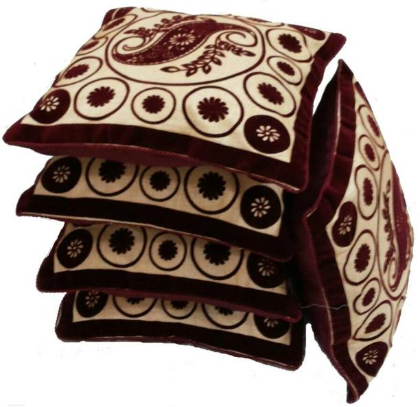 The Dazzling House Self Design Cushions Cover