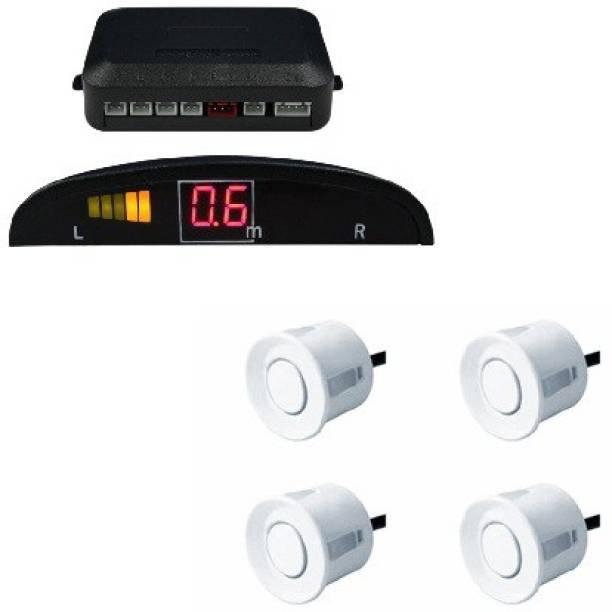 A2D 13642 Car Reverse Parking Sensor Silver With LED Display- Chevrolet Sail UVA Parking Sensor