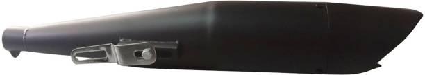 Enfield Works A&A Automobile Sans Shark Glasswool Exhaust Silencer Black For Thunderbird 350cc Bike Exhaust Heat Shield