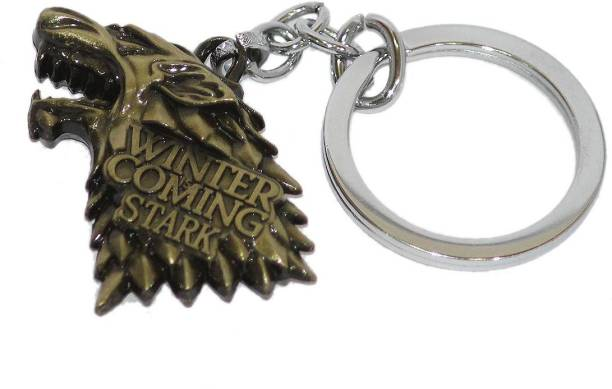 Aura HBO Game Of Thrones Double SidedFull Metal Key Chain