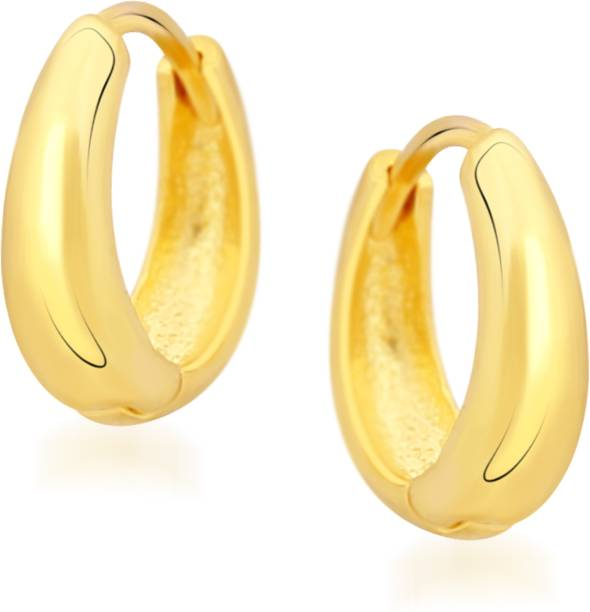 Vk Jewels Sweet Kaju Alloy Hoop Earring