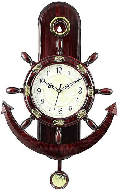 Factorywala Analog 40 cm X 30 cm Wall Clock