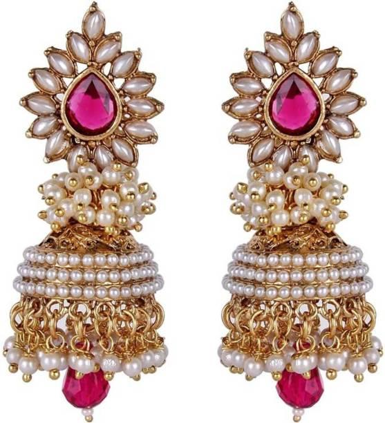 ee1b963e8 Shining Diva Bollywood Inspired Fancy Party Wear Jhumka Alloy Jhumki Earring