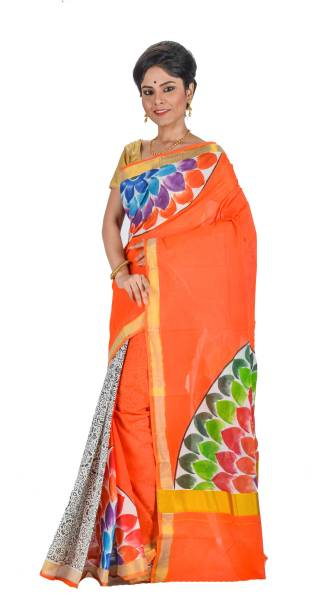24fa80e43153b Handloom Cotton Sarees - Buy Handloom Cotton Sarees online at Best ...