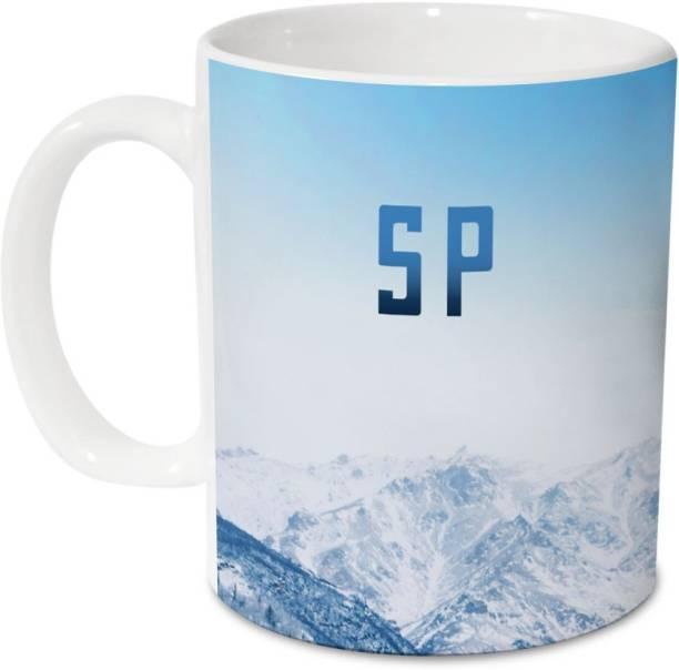 HOT MUGGS Me Skies - S P Ceramic 350 ml, 1 Unit Ceramic Coffee Mug