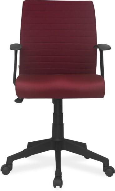 Nilkamal Thames Fabric Office Arm Chair