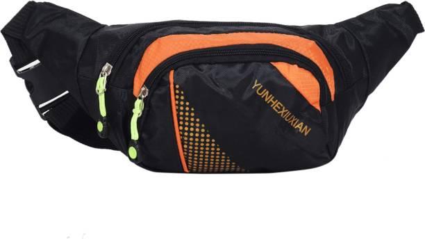 Sri Polyester 0.5 Ltrs Designer Waist Pouch For Men   Women Waist Bag 011585e4b2