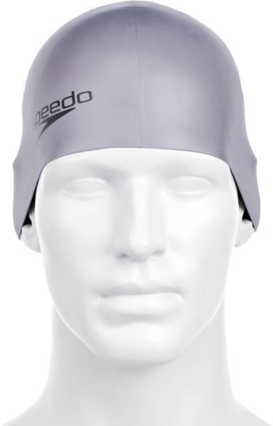 SPEEDO Unisex-Adult Plain moulded Silicone Swimming Cap