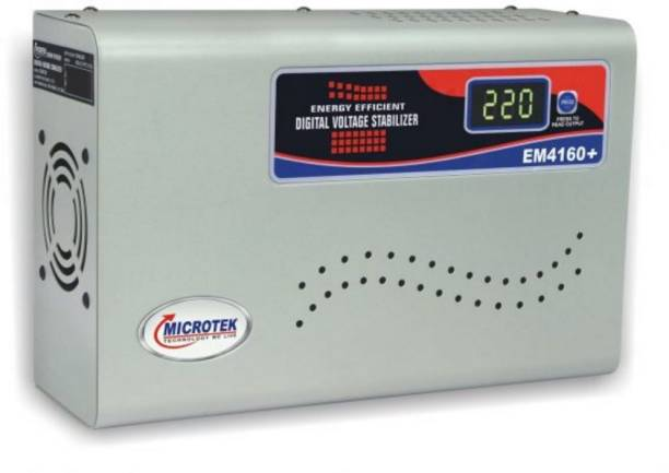low priced d42f4 5fd72 Microtek EM4160+ Digital Display For AC upto 1.5Ton (160V-285V) Voltage  Stabilizer