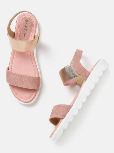 MAST & HARBOUR Women Pink Flats
