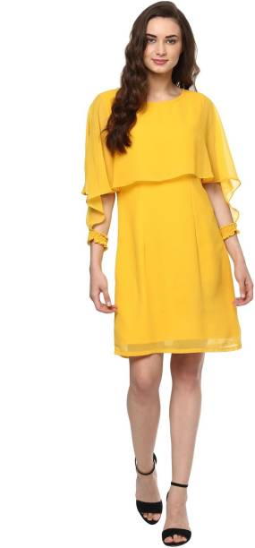 9c906db5ba39 Solid Fit Flare Dresses - Buy Solid Fit Flare Dresses Online at Best ...
