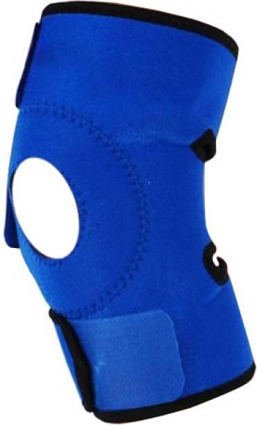 236b42ec55 Futaba Sports Adjustable Knee Pad Knee, Calf & Thigh Support (Free Size,  Blue