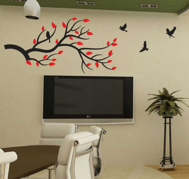 New Way Decals Wall Sticker Fantasy Wallpaper