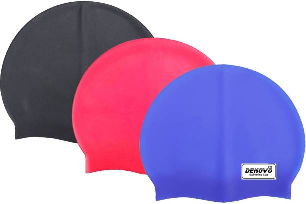 DeNovo Imported (Set of 3) Swimming Cap
