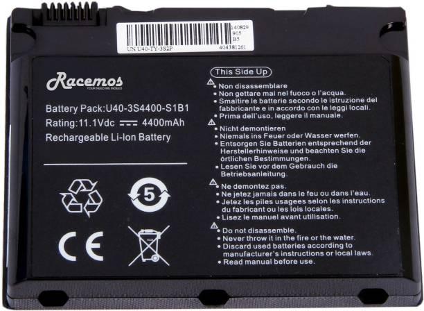 Racemos U40-3S4000-G1B1 6 Cell Laptop Battery