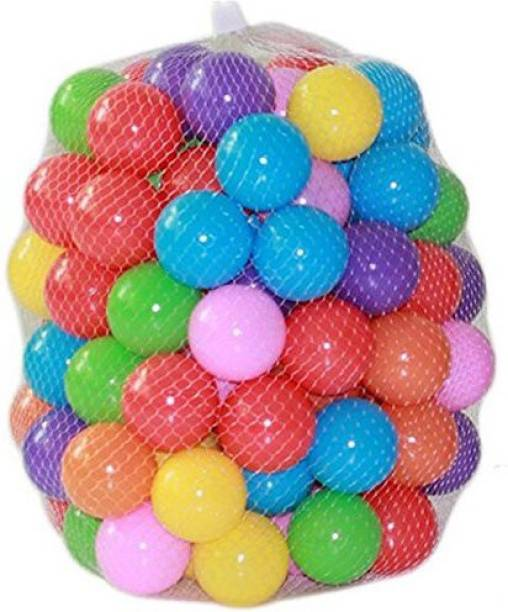 Kuhu Creations Ping Pong Light Plastic ball Bath Toy