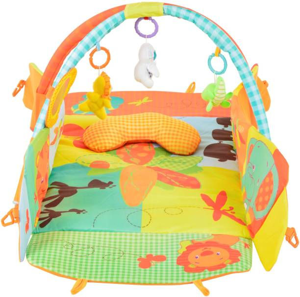 Toy House Baby Bouncer with Vibration Bouncer