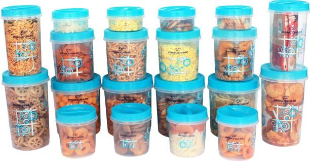 PRINCEWARE twister  - 715 ml, 230 ml, 840 ml, 1350 ml, 1230 ml, 490 ml Plastic Grocery Container