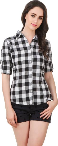 Female Shirt Designs | Women S Shirts Online At Best Prices In India Buy Ladies Shirts