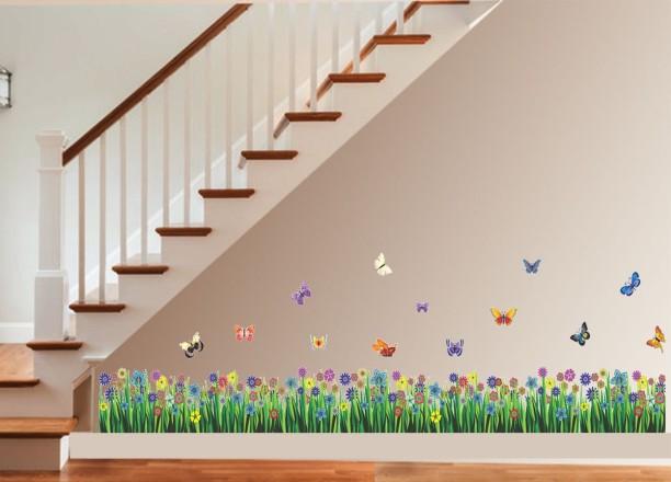 New Way Decals Wall Sticker Floral U0026 Botanical Wallpaper