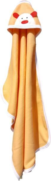 BRANDONN Striped Single Hooded Baby Blanket