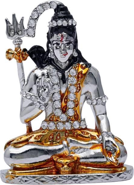Kulin Lord Shiva | Shiv Shankar God Idol for Car Dashboard | Home Decor | Gifting Decorative Showpiece  -  7.5 cm