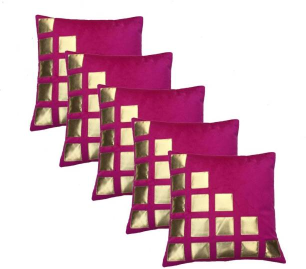 MS Enterprises Geometric Cushions & Pillows Cover